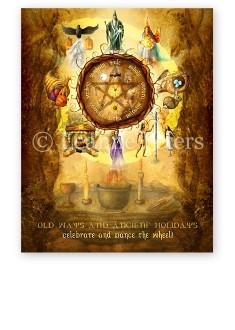 Wheel of the Year Print